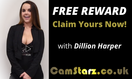 Pornstar Dillion Harper Rewards You For Your Loyalty | CamStarz.co.uk